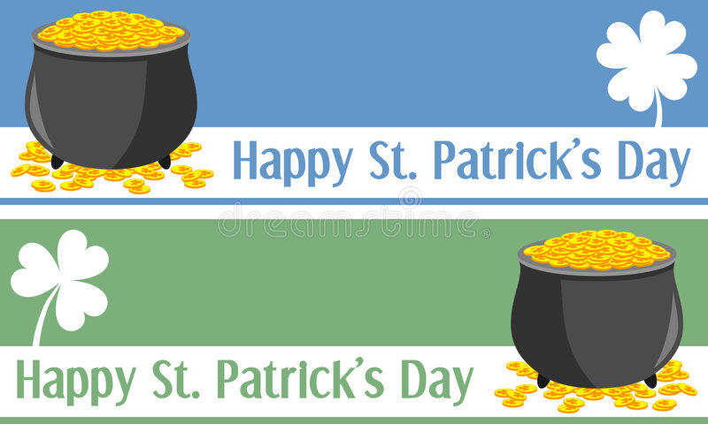 St. Patrick S Day Banners [1] Royalty Free Stock Photos