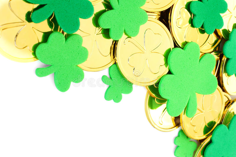 Download St Patrick's Day border stock photo. Image of lucky, border - 29040870