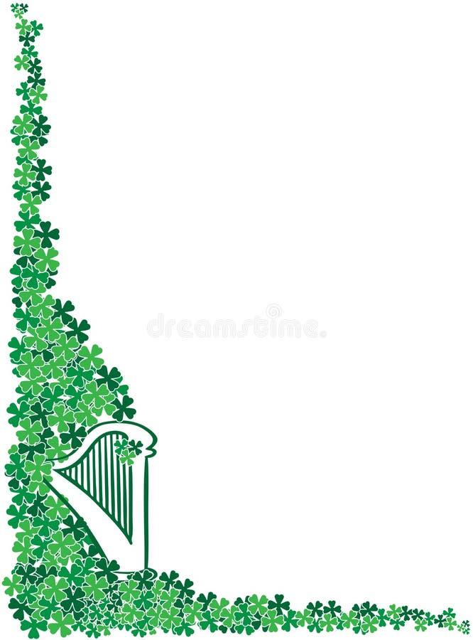 Download St. Patrick's Day Celtic Harp Corner Frame Stock Images - Image: 11632644