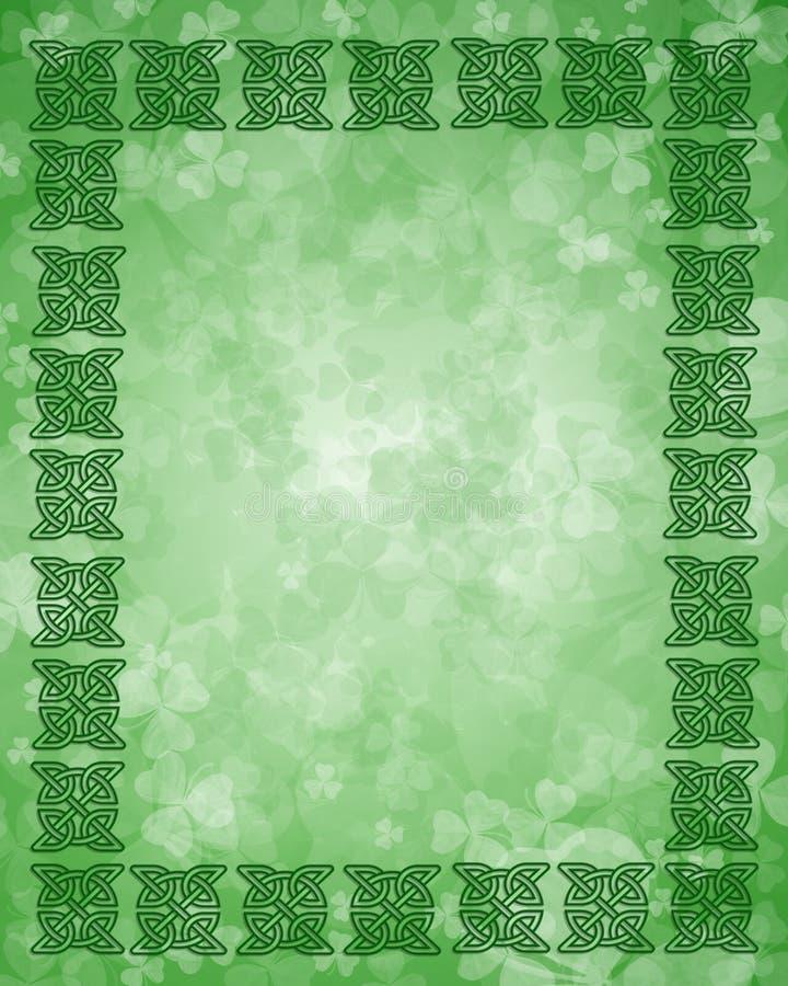 St Patrick S Day Celtic Knot Frame Royalty Free Stock Photos