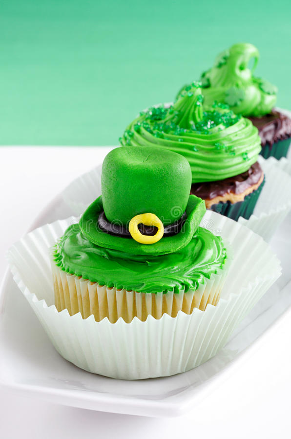 Download St. Patrick's Day Cupcakes Royalty Free Stock Photography - Image: 23312017