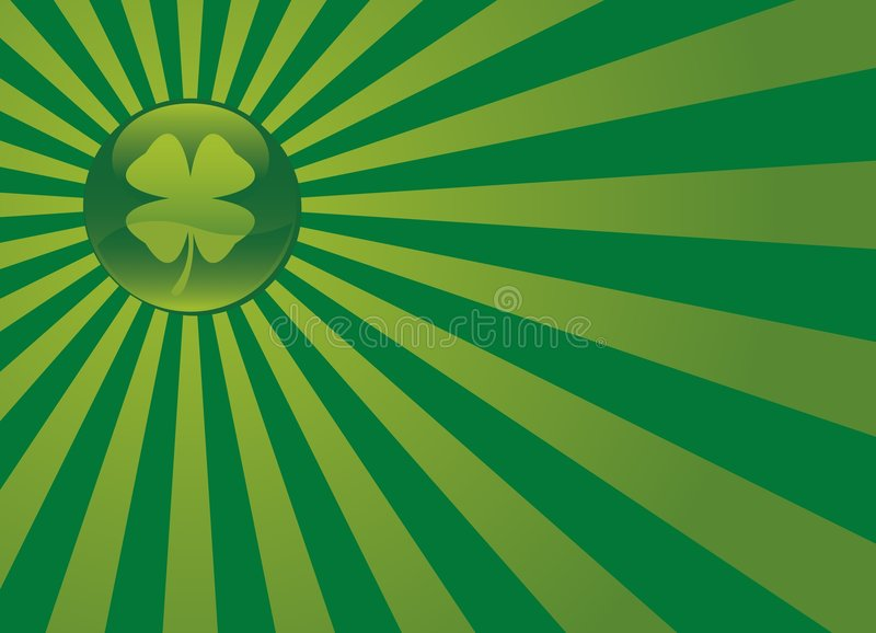 St. Patrick's Day Design 04 royalty free stock image