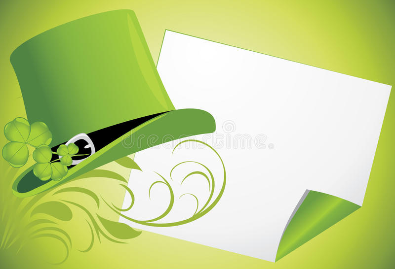 St. Patrick's Day. Festive banner royalty free stock image