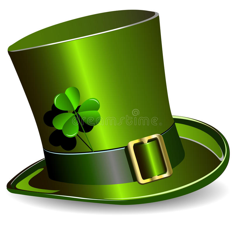 St. Patrick's Day hat stock illustration