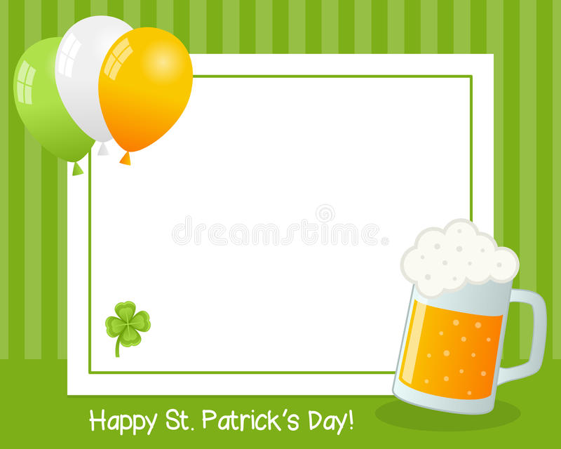 Download St. Patrick S Day Horizontal Frame Stock Vector - Illustration: 36662385