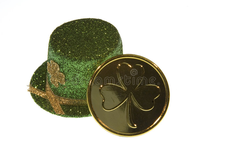 St Patrick's Day Luck stock image