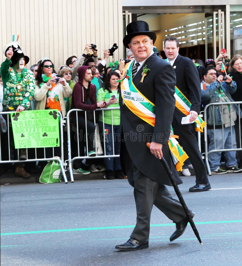 Download St.Patrick's Day Parade editorial photo. Image of avenue - 23908301