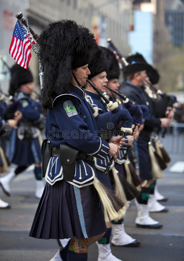 Download St. Patrick's Day Parade editorial stock image. Image of march - 24132844