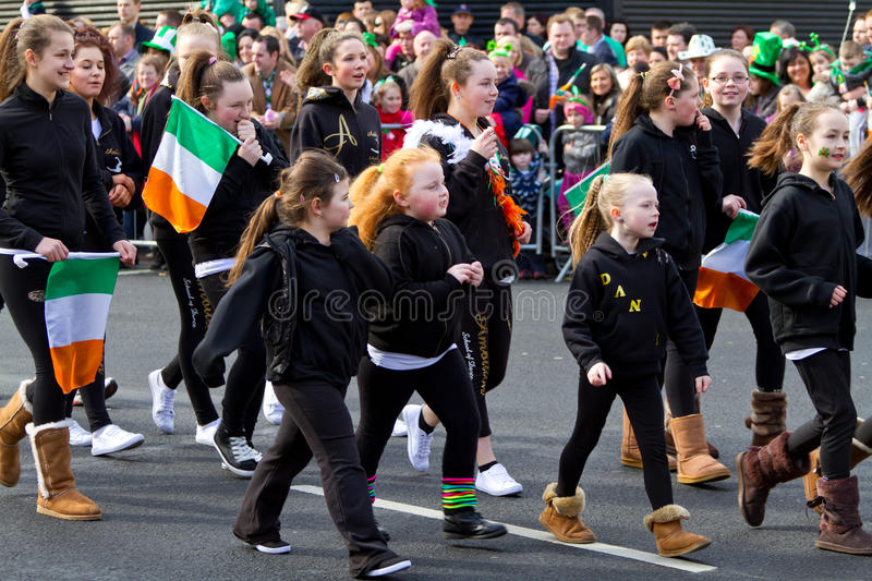 Download St. Patrick's Day Parade In Limerick Editorial Stock Image - Image: 23918389
