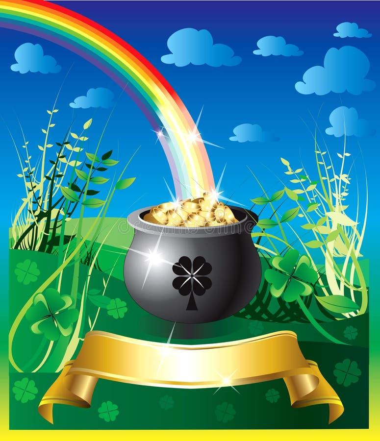 Free St. Patrick S Day Rainbow 2 Stock Image - 13081241