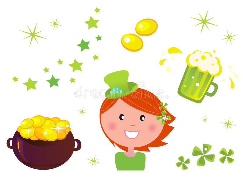 Download St. Patrick's Day Set & Icons Stock Images - Image: 18858594