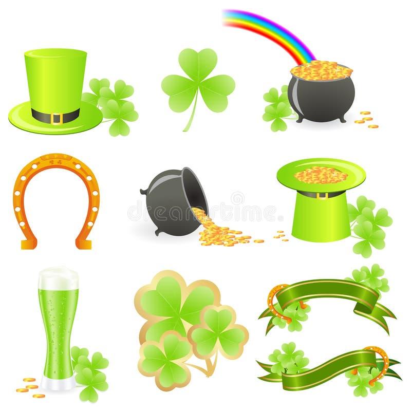 Download St. Patrick's Day symbols stock vector. Image of illustration - 13390313