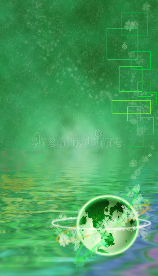 Download St. Patrick's Day Themed Background Stock Illustration - Image: 4520373