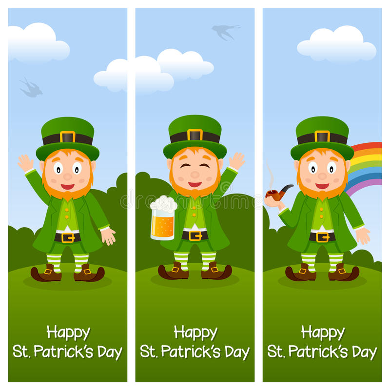 Download St. Patrick S Day Vertical Banners Stock Vector - Image: 36472541