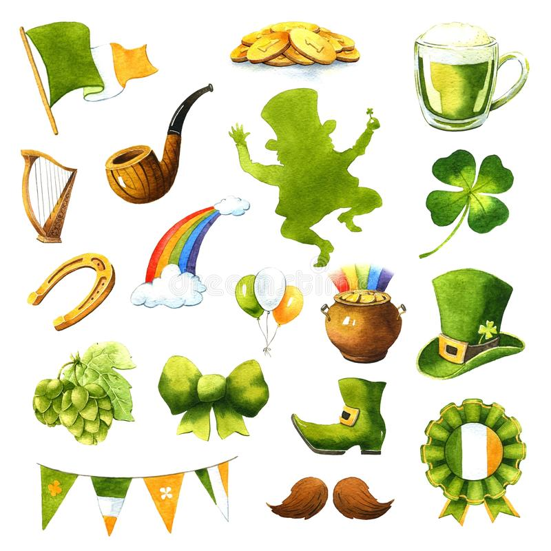 St.Patrick `s Day stock illustration