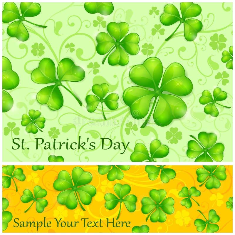 St Patrick S dnia tło ilustracja wektor
