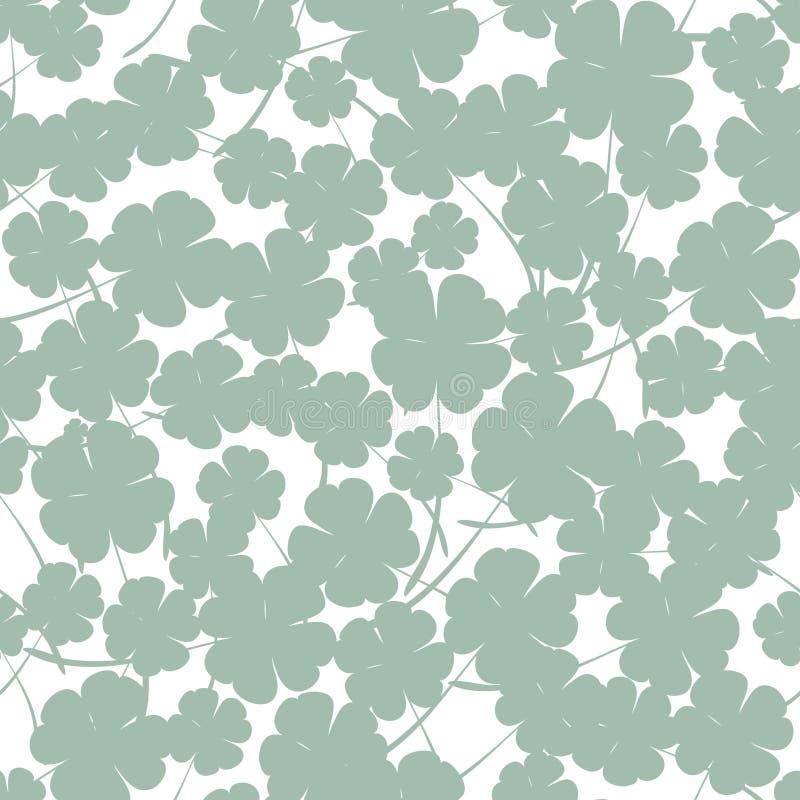 St Patrick ` s dnia wektorowy bezszwowy tło royalty ilustracja