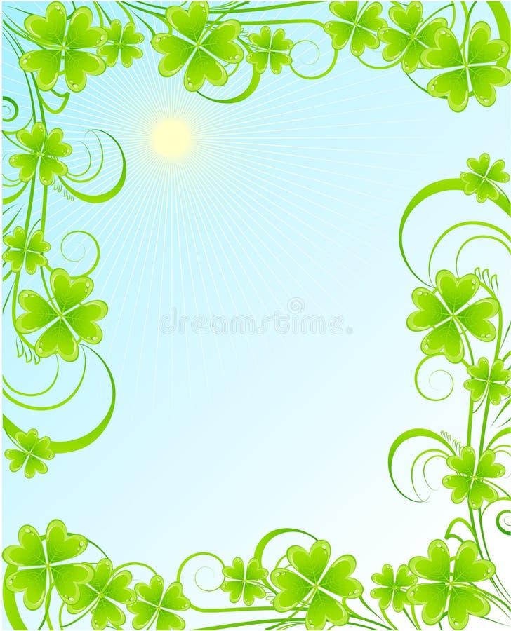 St. Patrick's frame stock illustration