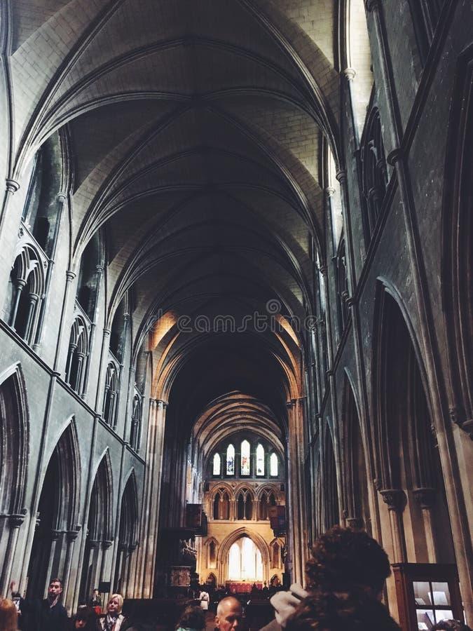 St Patrick& x27; s Kathedraal stock afbeelding