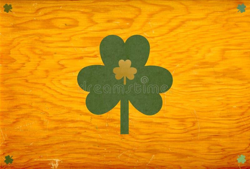 St. Patrick shamrocks vector illustration