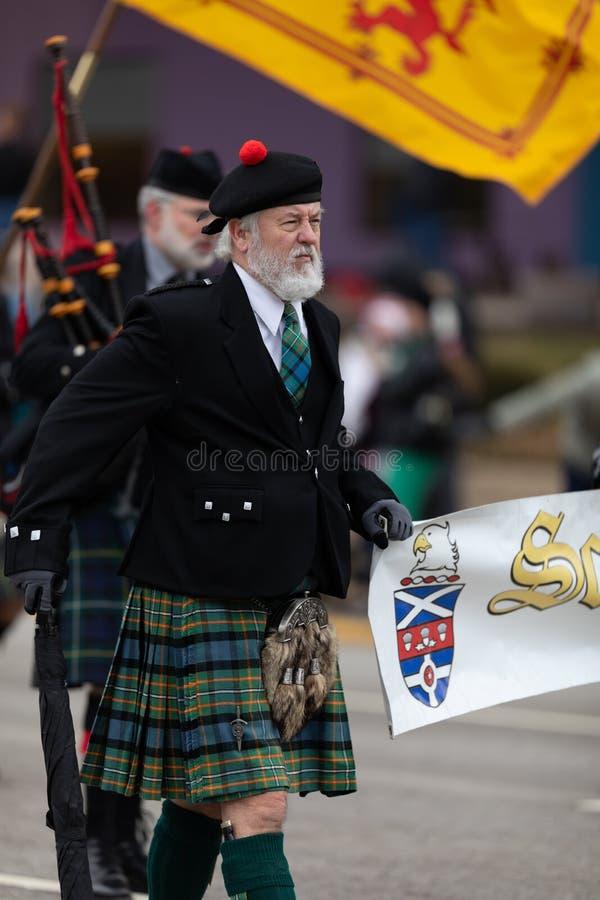 St Patrick Tag Indianapolis lizenzfreie stockfotografie