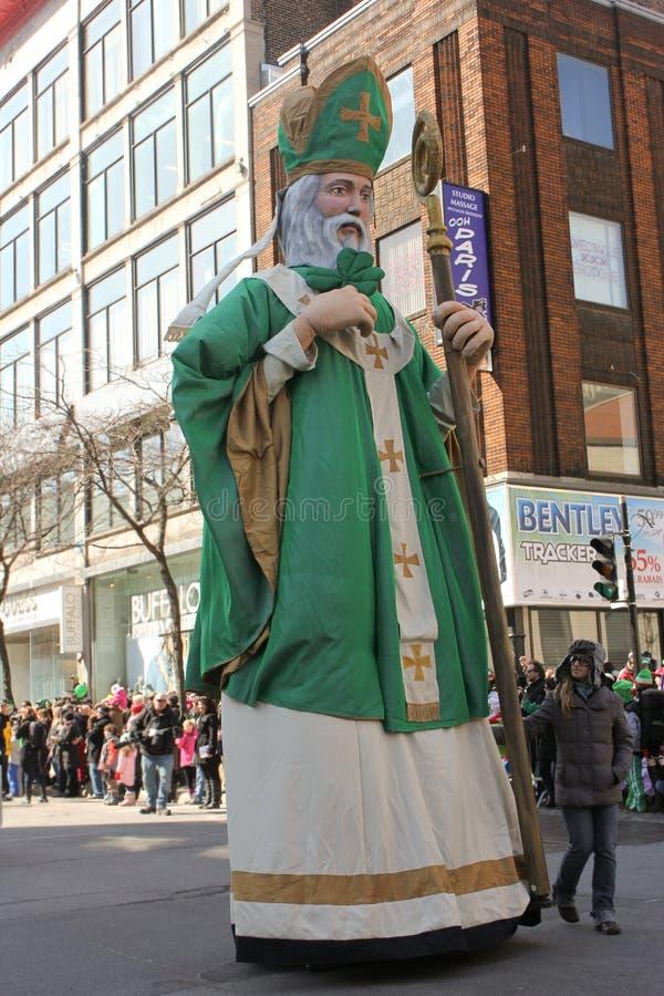St.Patrick Tag in Montreal. lizenzfreie stockbilder