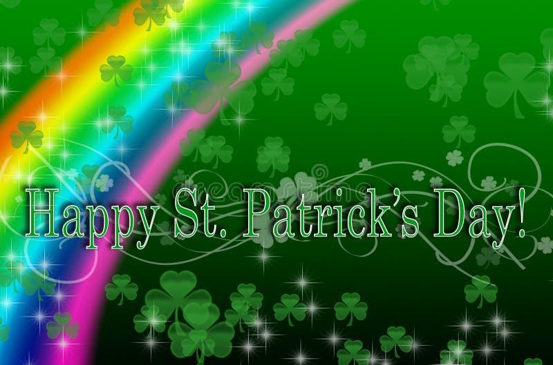 St Patrick Tagesauslegung stock abbildung
