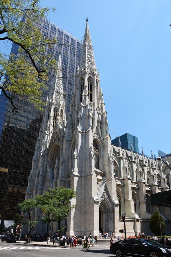 St Patrick u. x27; s-Kathedrale, New York stockbild