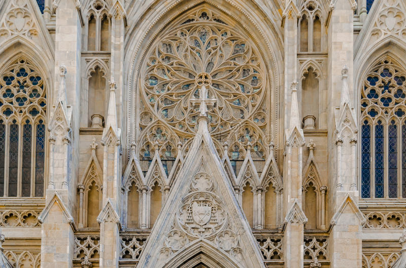 St Patrick y x27; catedral de s fotos de archivo