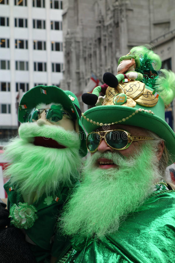 St Patricks天游行 免版税库存图片