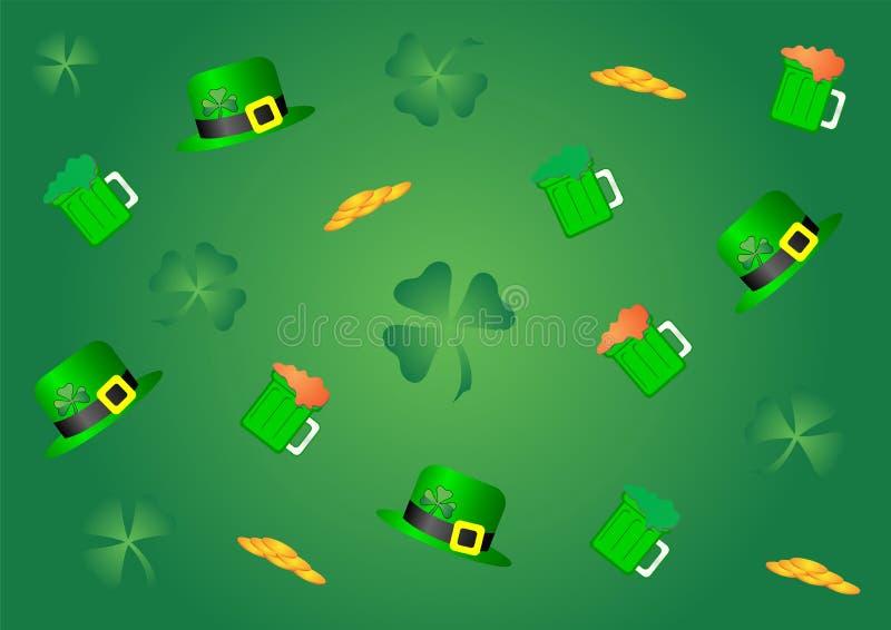 St_Patricks_06 illustration de vecteur