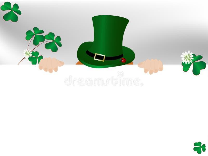 St.Patricks achtergrond royalty-vrije illustratie