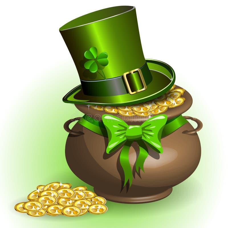 St. Patricks Dag royalty-vrije illustratie