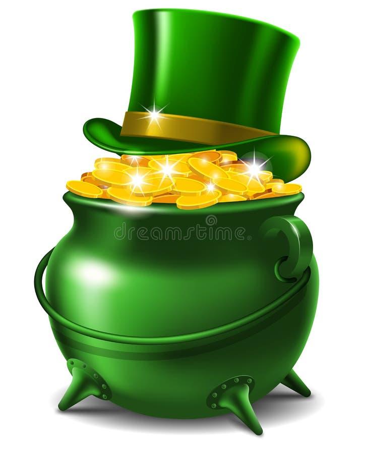 St. Patricks Dag vector illustratie