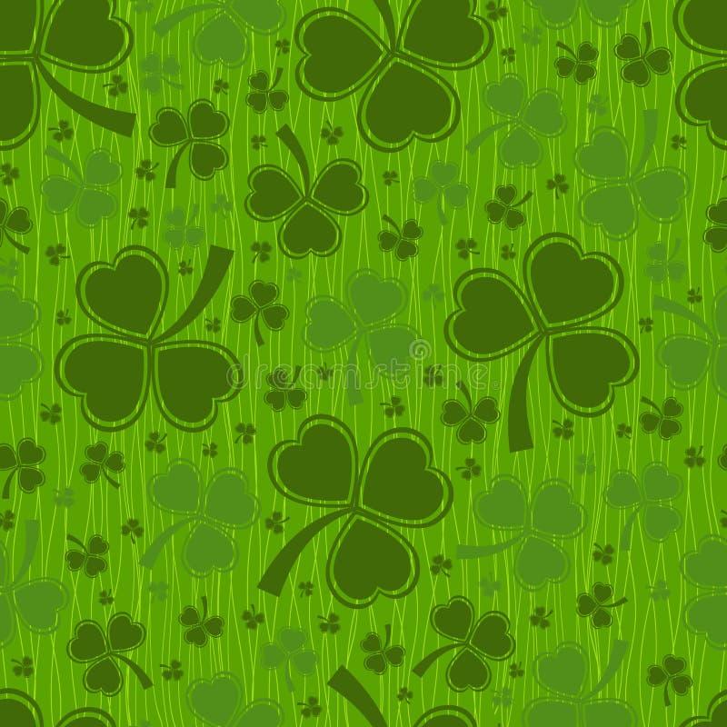 St Patricks dagachtergrond royalty-vrije illustratie