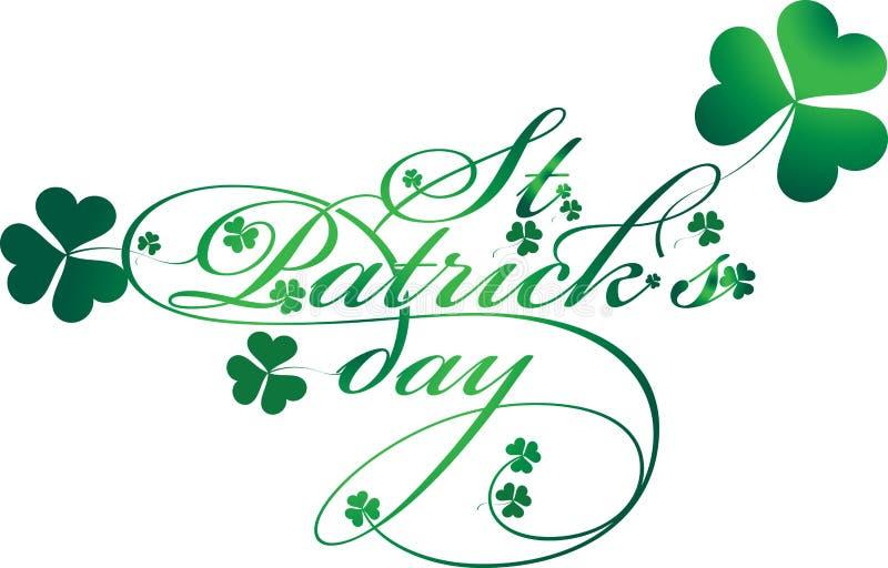 St. Patricks Day royalty free illustration