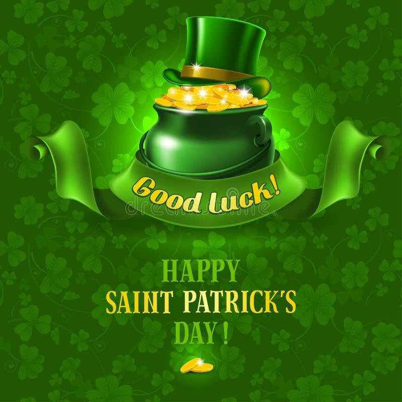 St.Patricks Day background stock photography