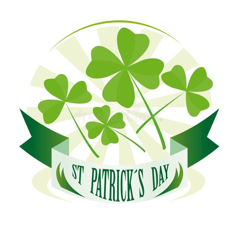 St Patricks Day Badge Royalty Free Stock Image
