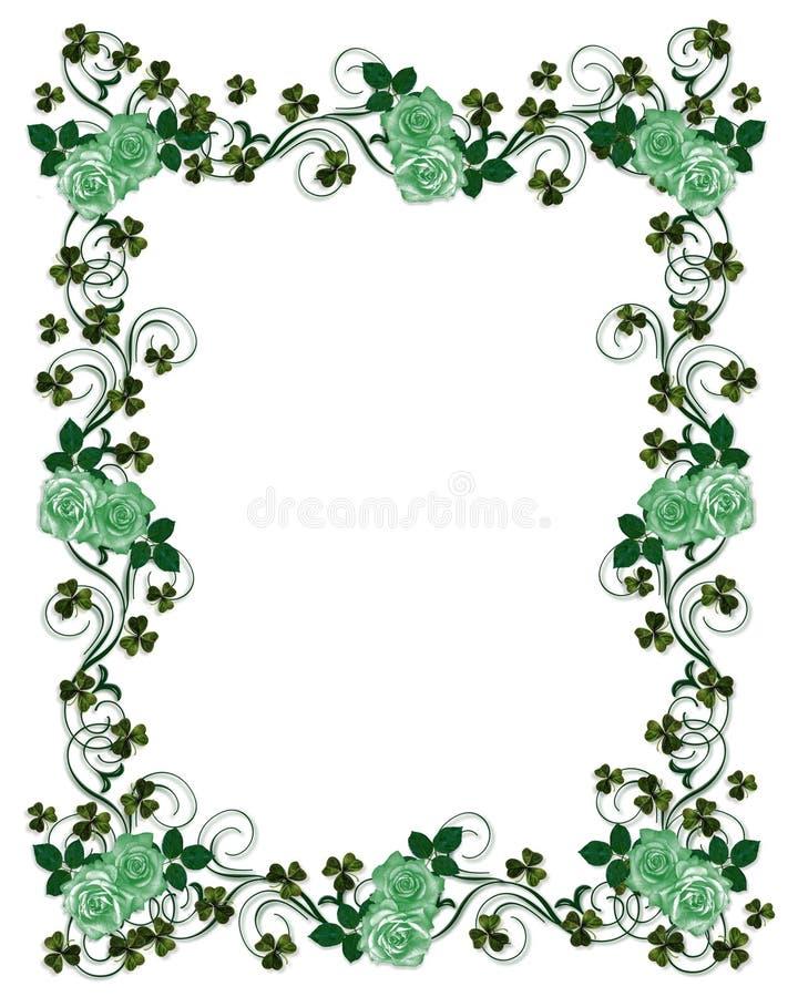 Download St Patricks Day border stock illustration. Image of patricks - 7293120
