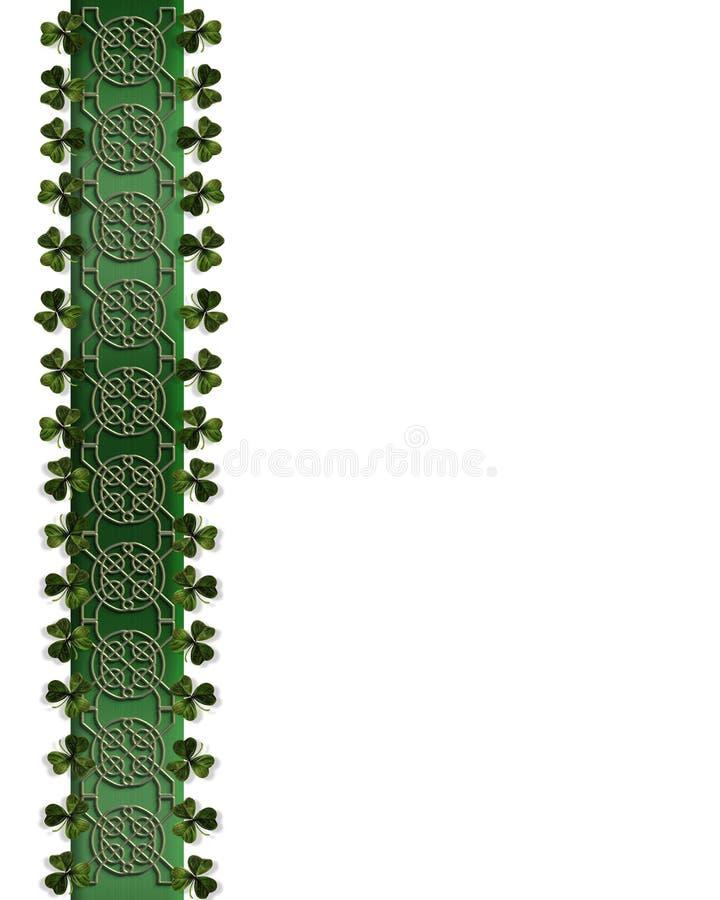 Download St Patricks Day Border Celtic Knot Stock Illustration - Illustration: 7774280