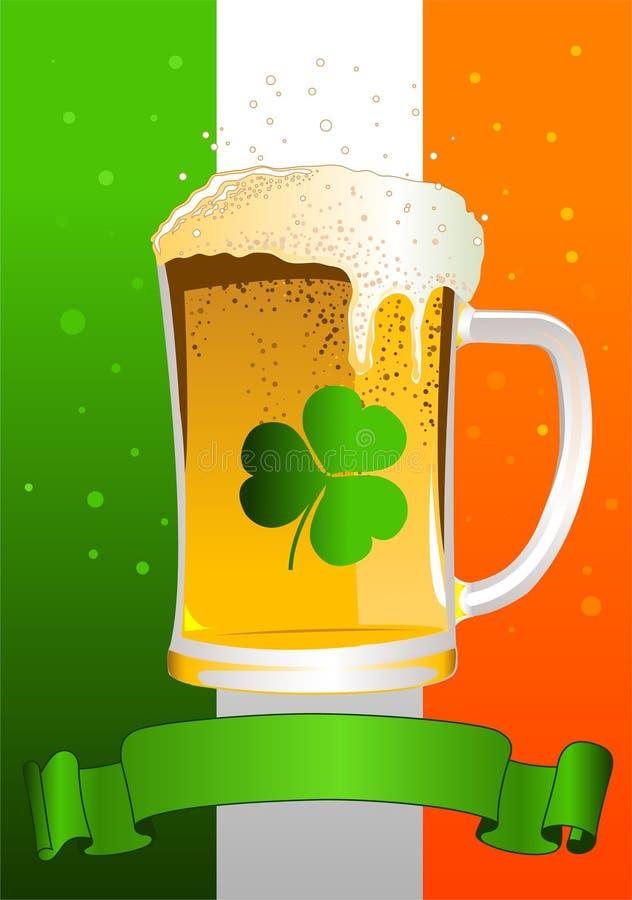 St. Patricks Day Celebration Background stock photos