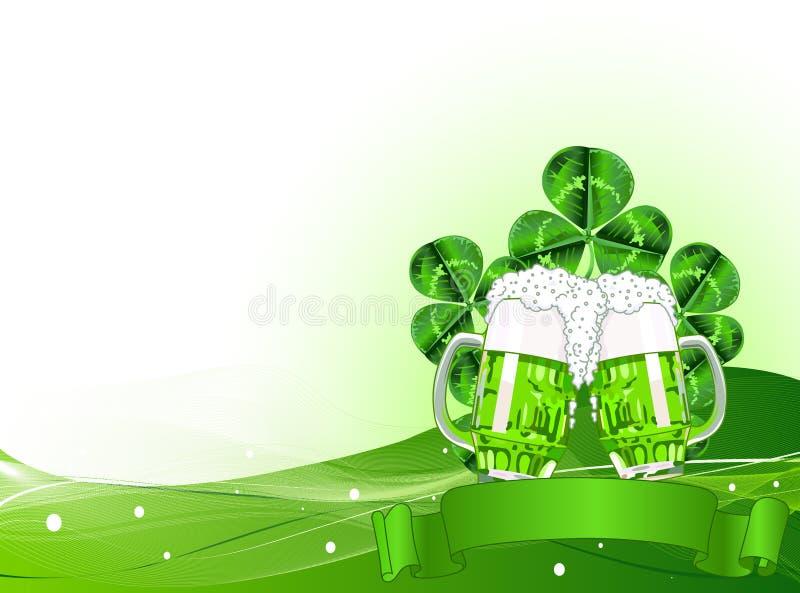 St. Patricks Day Celebration Background stock image