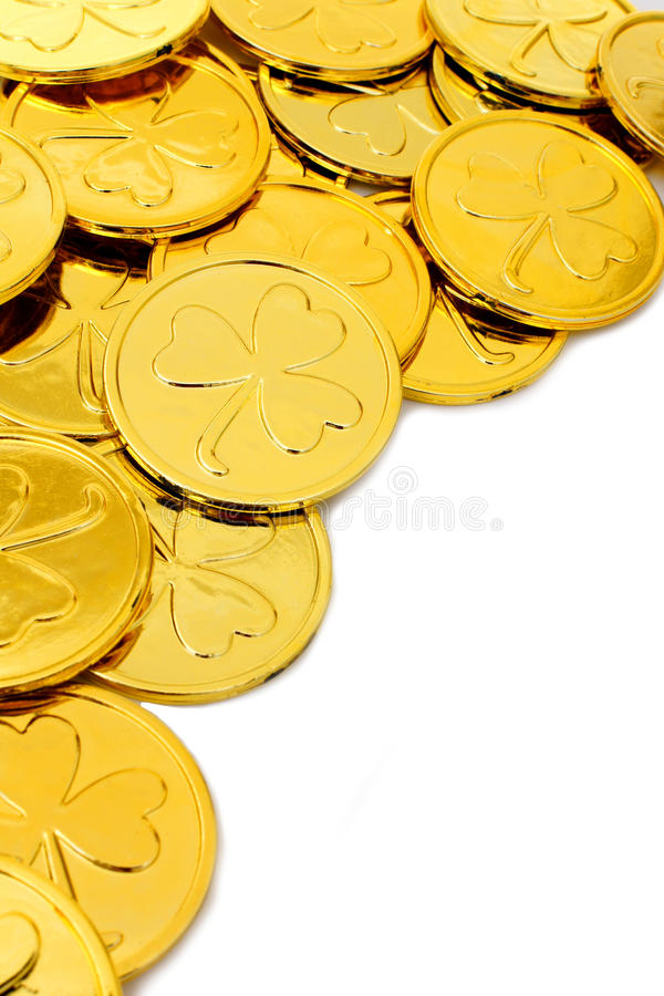 Download St Patricks Day Coin Border Stock Photo - Image: 28942634