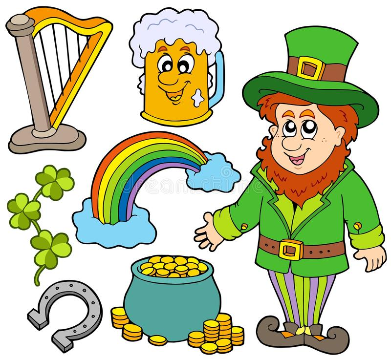 Download St Patricks Day Collection 2 Stock Vector - Illustration of isolated, artwork: 12919936