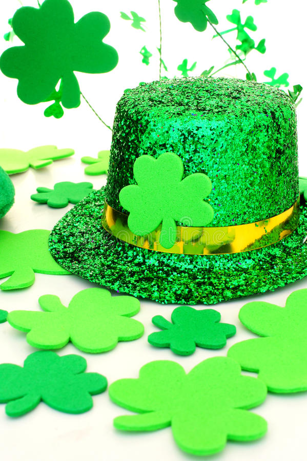 St patricks day decor royalty free stock images image for B day decoration