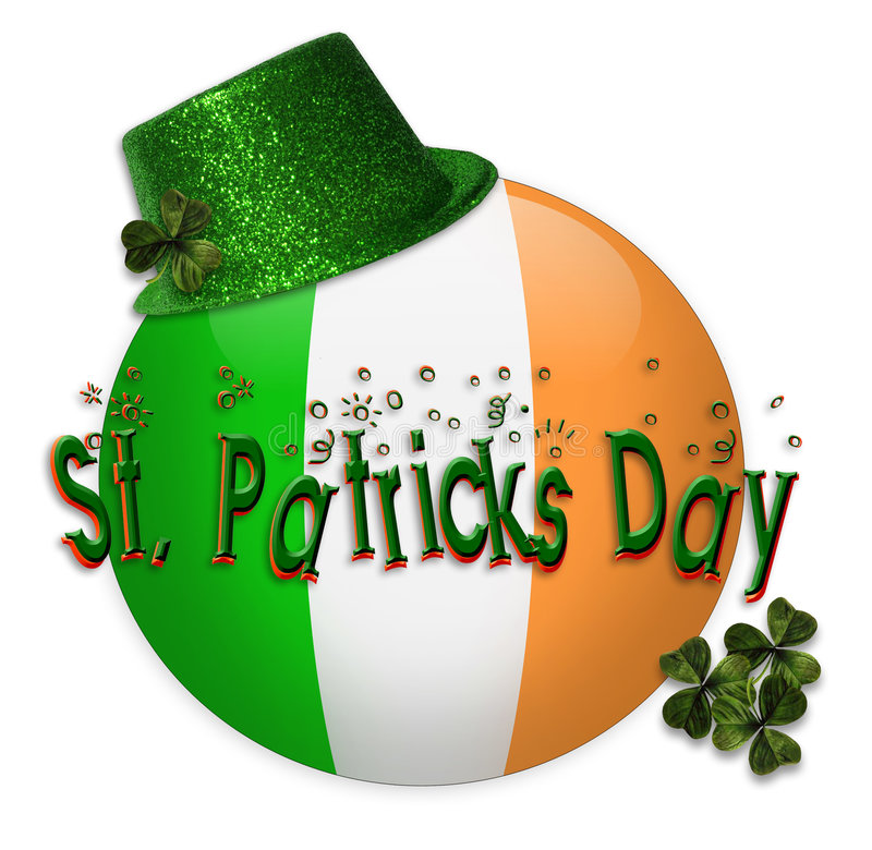 St Patricks Day Icon Royalty Free Stock Photo
