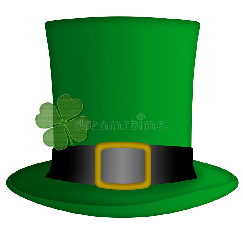 St Patricks Day Irish Leprechaun Hat vector illustration