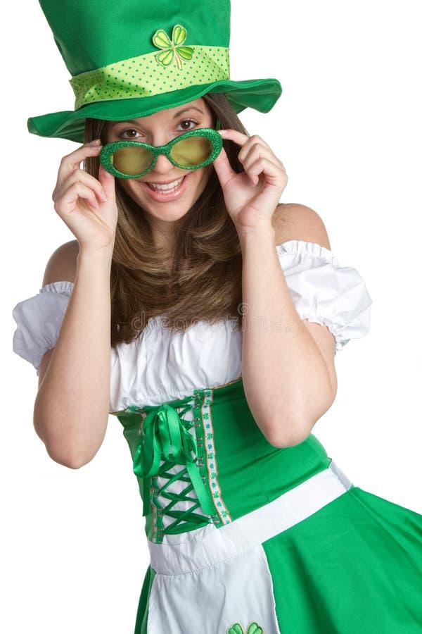St Patricks de Vrouw van de Dag royalty-vrije stock afbeeldingen