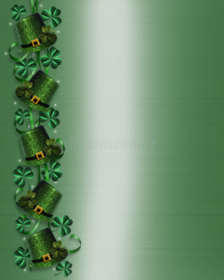 St Pattys Day Border Stock Images