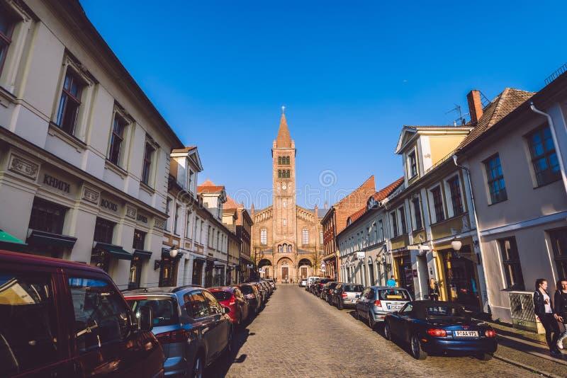 ST Paul και εκκλησία του Peter στο Πότσνταμ στοκ φωτογραφία